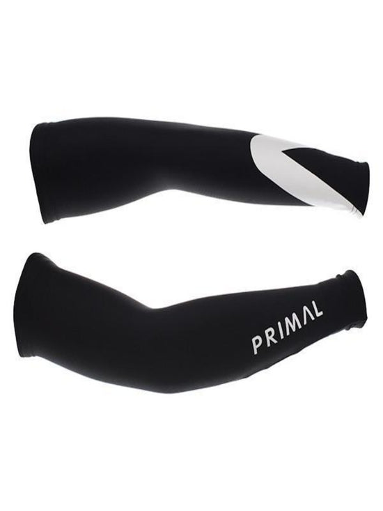 PRIMAL Onyx Thermal Unisex Arm Warmers Black - Activemen Clothing