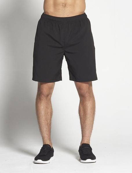 PURSUE FITNESS Long Sport Shorts Black - Activemen Clothing