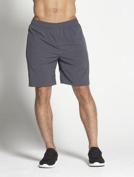 PURSUE FITNESS Long Sport Shorts Grey - Activemen Clothing