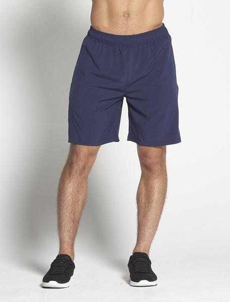 PURSUE FITNESS Long Sport Shorts Navy - Activemen Clothing