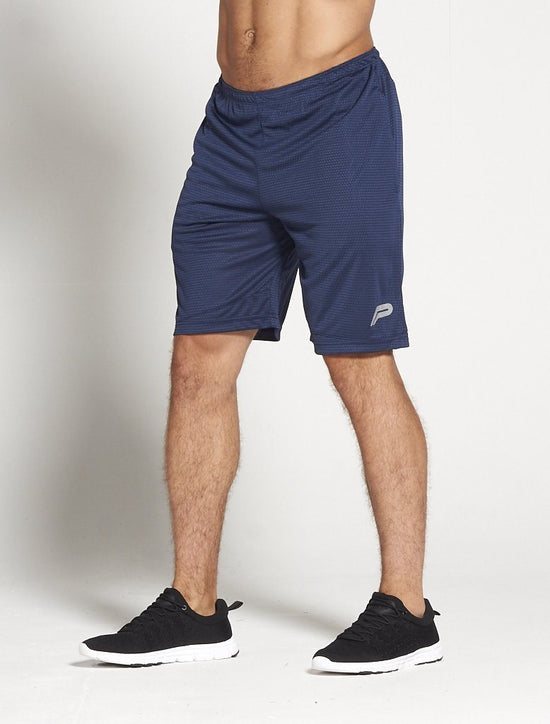 PURSUE FITNESS BreathEasy Agility Shorts Navy - Activemen Clothing