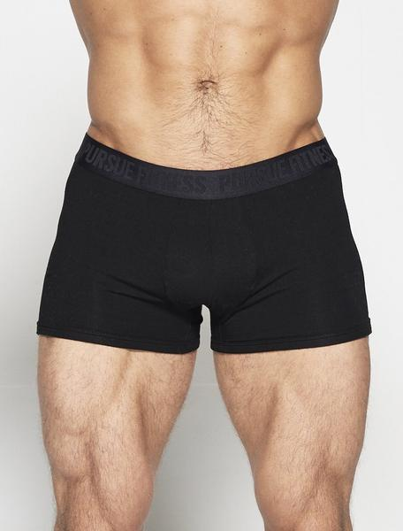 PURSUE FITNESS Trunks Men's Underwear Black - Activemen Clothing