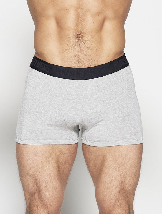 PURSUE FITNESS Grey Trunk - Activemen Clothing