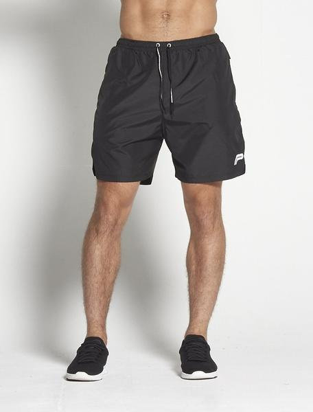 PURSUE FITNESS Elevate Shorts Men's Gym Shorts Black and White - Activemen Clothing