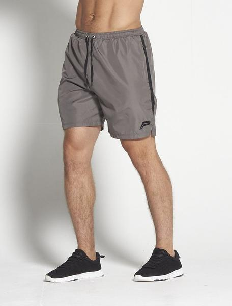 PURSUE FITNESS Elevate Shorts Men's Gym Shorts Grey and Black - Activemen Clothing