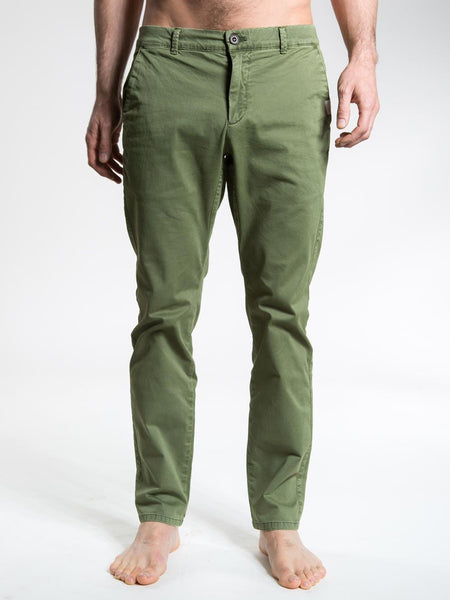 SO WE FLOW... soweflow... Twill Longs Tapered Men's Yoga Pants Yoga Clothing Forest Green - Activemen Clothing