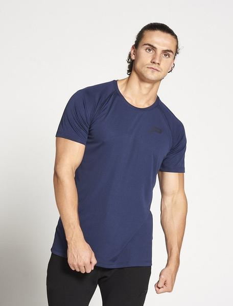 PURSUE FITNESS Essential Gym Breatheasy Short Sleeve Top Men's Tee T-Shirt Navy - Activemen Clothing
