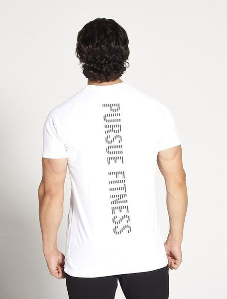 PURSUE FITNESS Essential Gym Breatheasy Short Sleeve Top Men's Tee T-Shirt White - Activemen Clothing