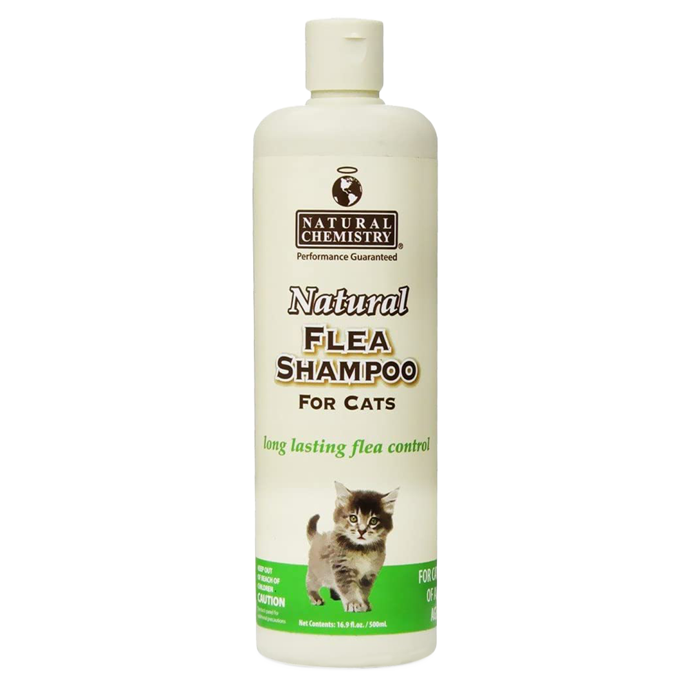 Natural Chemistry Natural Flea & Tick Shampoo for Cats - 16 oz