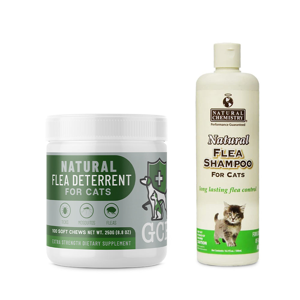 GCP Natural Shampoo Bundle for Cats