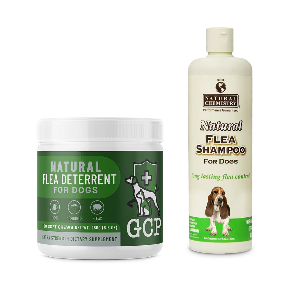 GCP Natural Shampoo Bundle for  Dogs