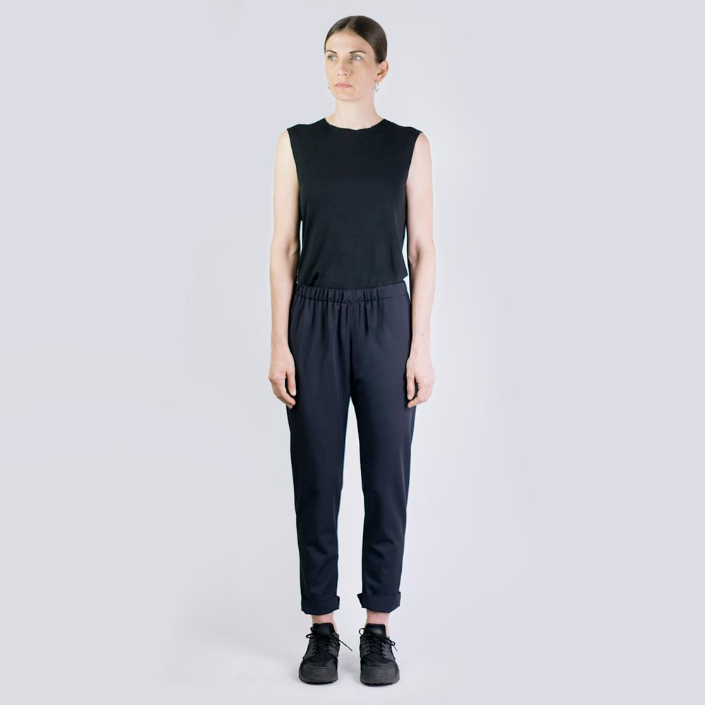 Gummi Pants - Dark Blue