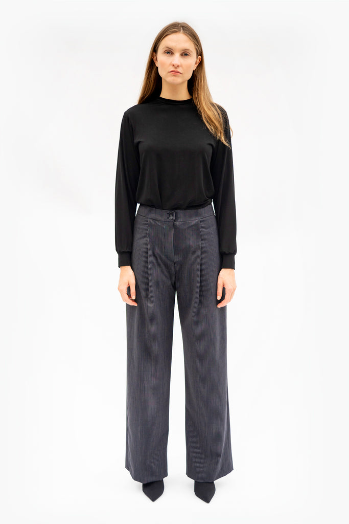 Ade Velkon - Pin Stripe Pants