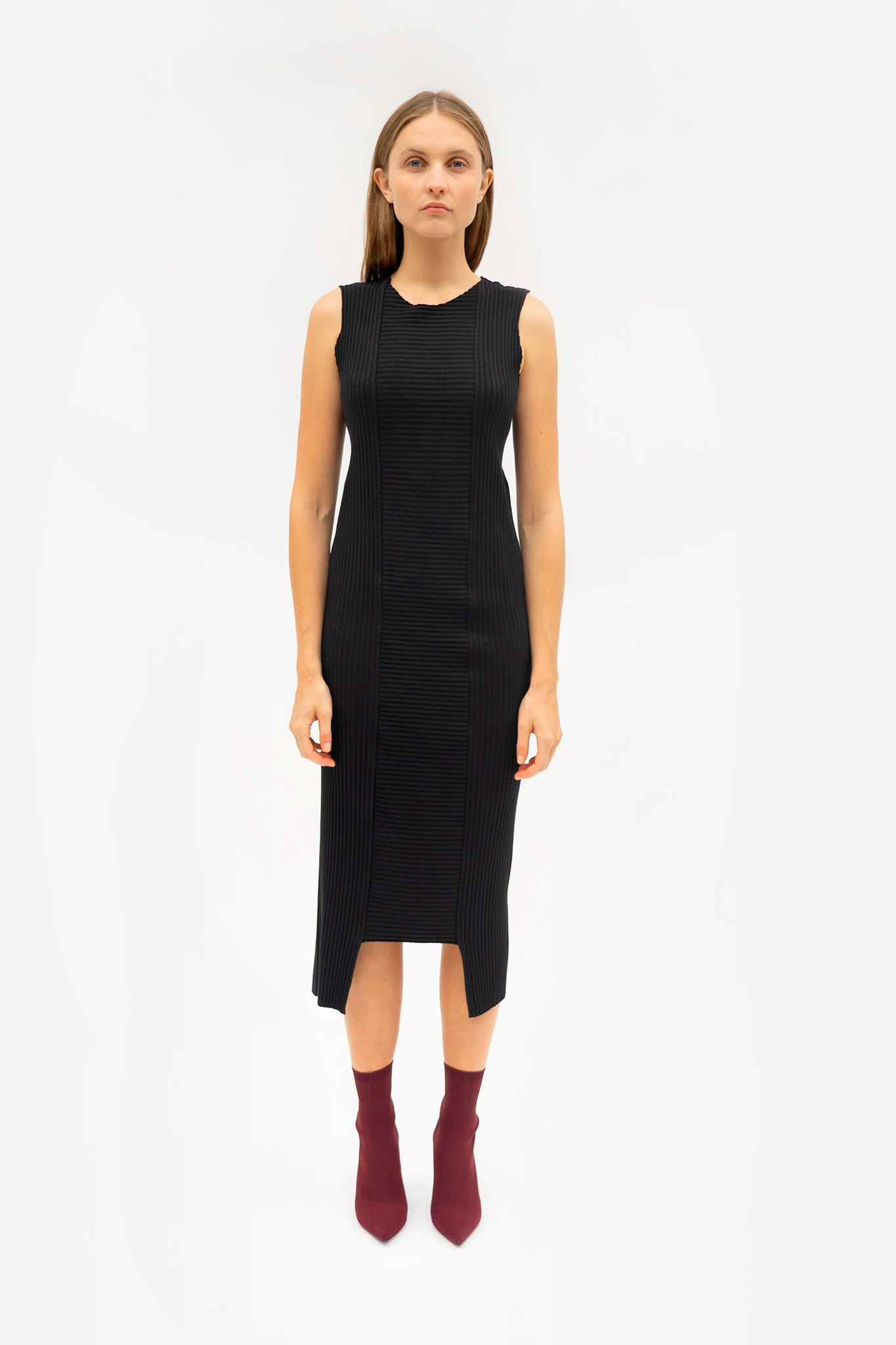 Ade Velkon - Rib Knit Dress