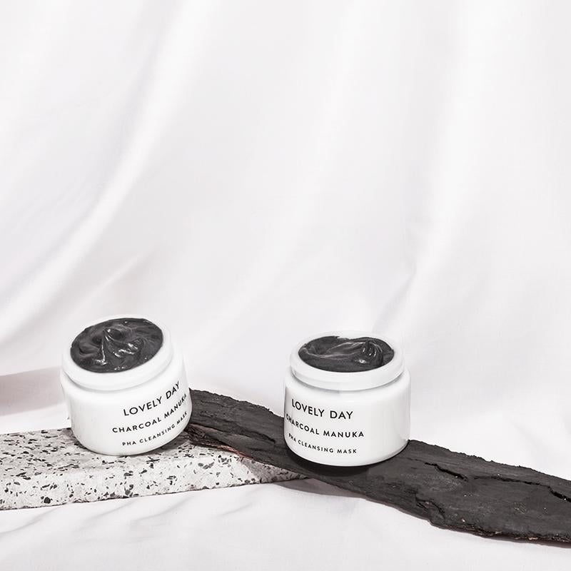Lovely Day - Charcoal Manuka Cleansing Mask