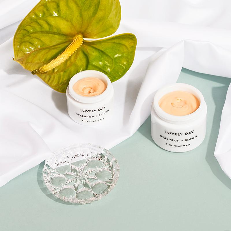 Lovely Day - Hyaluron + Bloom Clay Mask