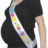 Mom To Be Satin Sash