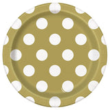 'Gold Dot' Plates - Small
