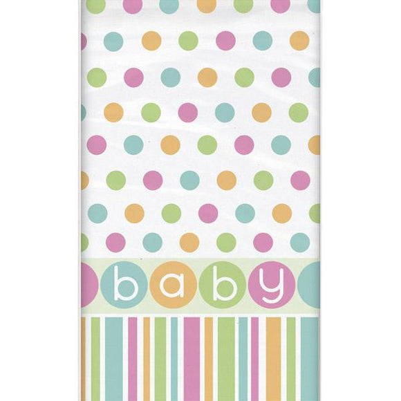 Baby Shower 'Pastels' Table Cover