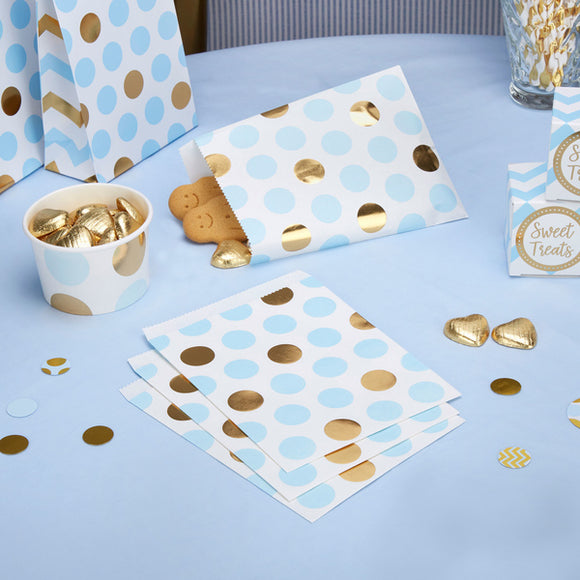 Blue 'Pattern Works' Sweetie Bags