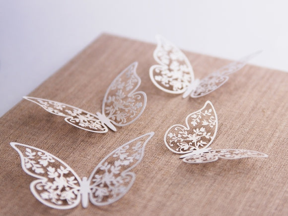 Laser Cut Butterfly Decorations