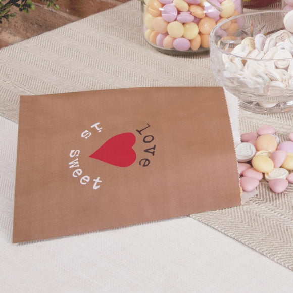 Rustic Just My Type Candy Buffet Sweetie Bags