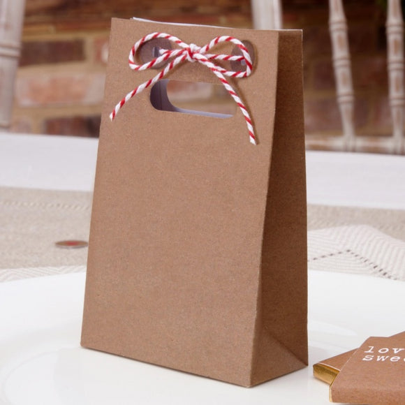 Rustic Just My Type Favour Bags 10 Pack