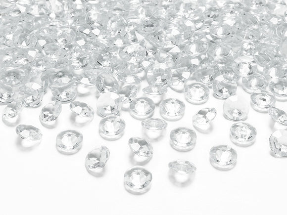 Table Crystals / Diamantes - Clear (12mm)