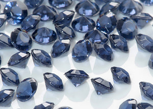 Table Crystals / Scatter Crystals - Navy (6mm)