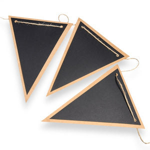 Chalkboard and Kraft Bunting