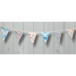 'Country Garden' Cotton Bunting.