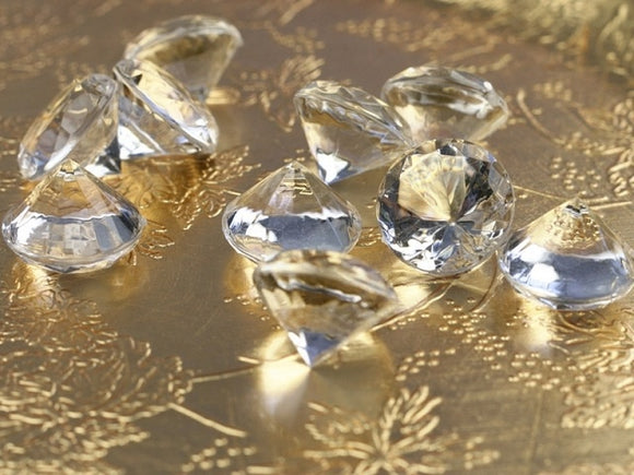 Table Crystals / Diamantes - Clear (20mm)