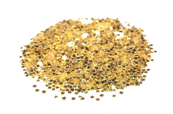 Mini Star Table Confetti - Gold
