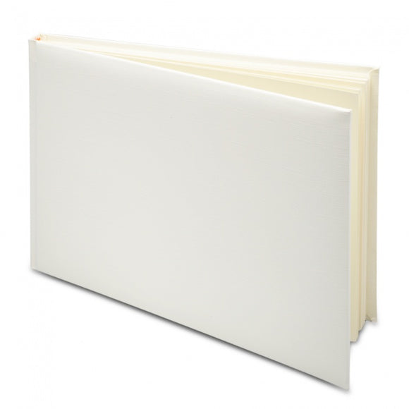 Guest Book - Plain Ivory