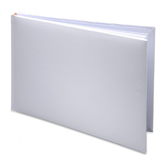 Guest Book - Plain White