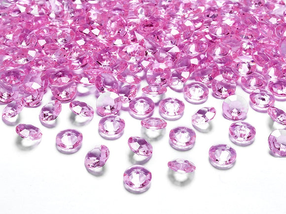Table Crystals / Diamantes - Pink (12mm)