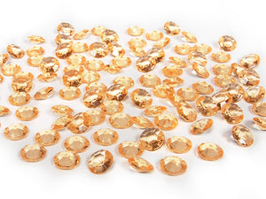 Table Crystals / Diamantes - Gold (12mm)