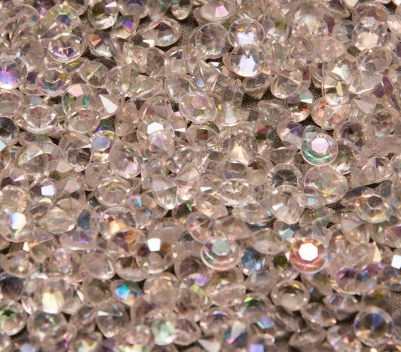 Table Crystals / Scatter Crystals - Iridescent  (6mm)