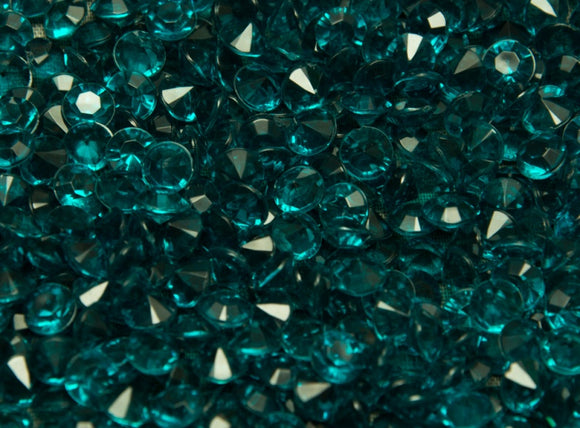 Table Crystals / Scatter Crystals - Jade Green (6mm)