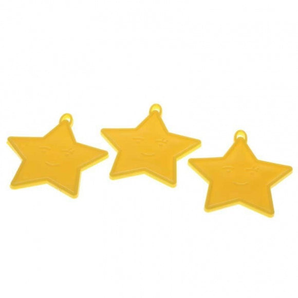 Yellow Star Balloon Weight