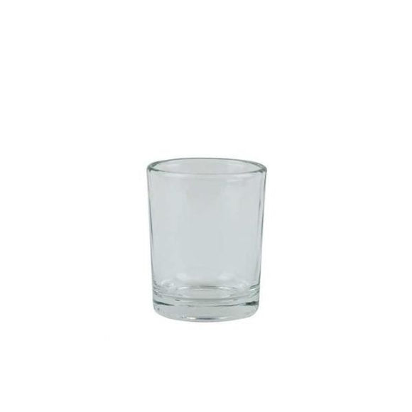 Glass Votive Candle Holder (Clear)
