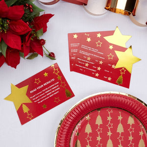 10 Christmas Trivia Scratch Cards 'Dazzling Christmas'