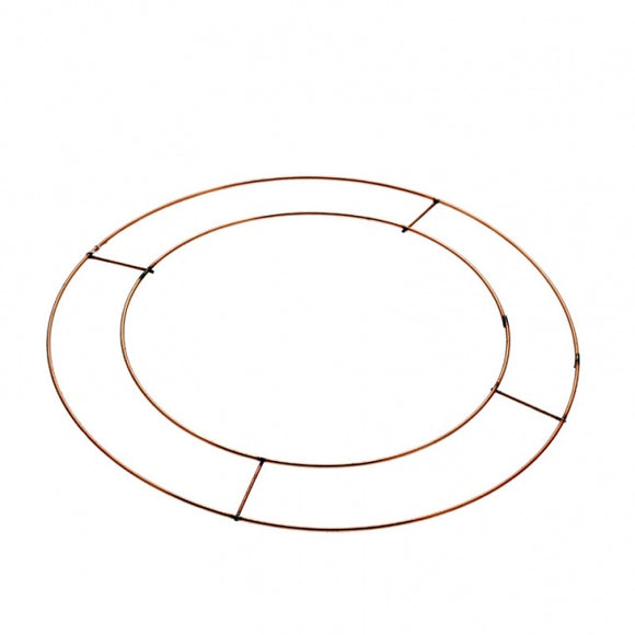 16 Inch Flat Wire Wreath Frame