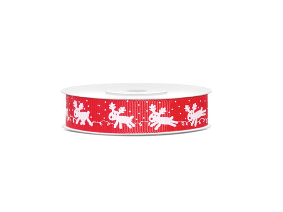 Rudolph Grosgrain Ribbon