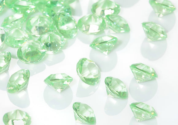 Table Crystals / Scatter Crystals - Apple Green (6mm)