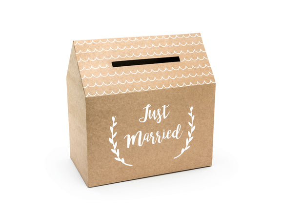 KRAFT HOUSE WEDDING POST BOX