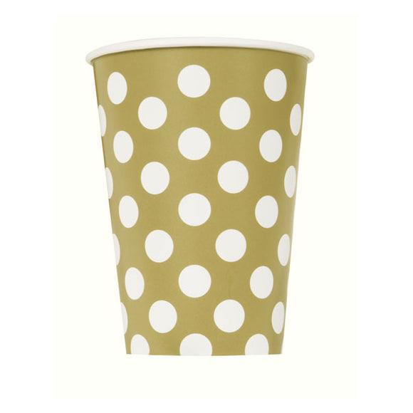 Wholesale 'Gold Dot' Paper Cup