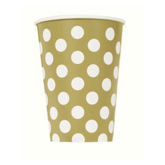 'Gold Dot' Paper Cup