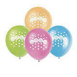 Wholesale Baby Shower 'Pastels' Balloons