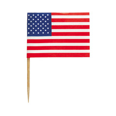 USA Food Flags - 30 Pack